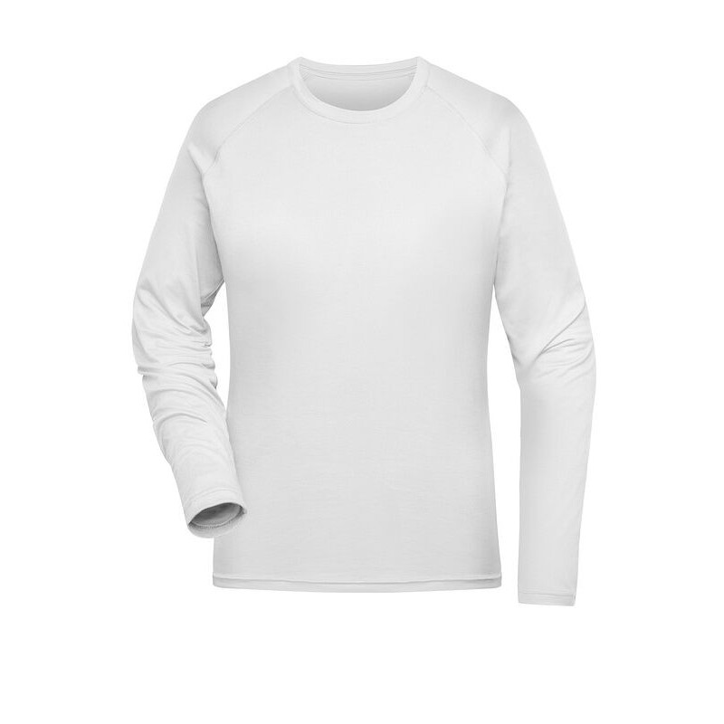Koszulka sportowa z długim rękawem damska