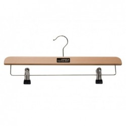 Clothes hanger with clip