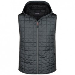 Men's Knitted Hybrid Vest...