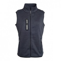 Ladies' Knitted Fleece Vest...