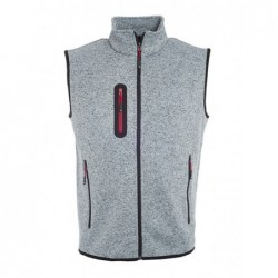 Men's Knitted Fleece Vest...