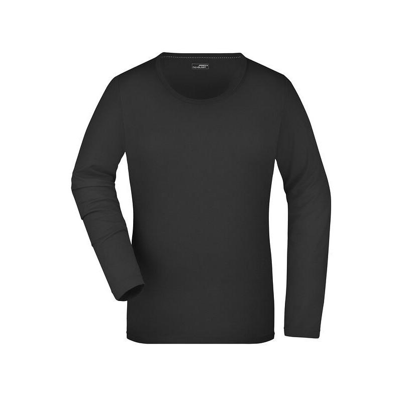 Ladies' Stretch Shirt Long-Sleeved
