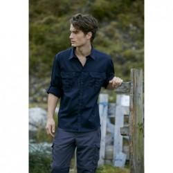 Men's Travel Shirt Roll-up Sleeves